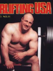 Scot Mendelson (courtesy: Powerlifting USA)