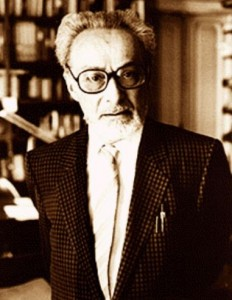 Chemist and World-Famous Author Primo Levi