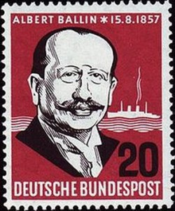 Commemorative Stamp of Albert Ballin