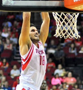 Omri Casspi of the Houston Rockets