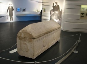 The Sarcophagus of Helena in the Israel Museum