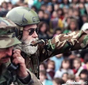 Rabbi Goldstein (Courtesy: JEM/Chabad.org)