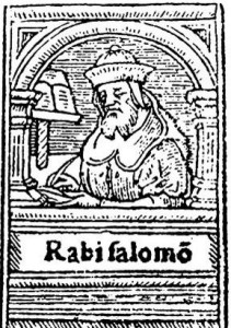Illustration of Rashi from 1539