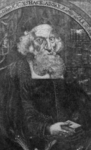 Rabbi Isaac Aboab da Fonseca, the first rabbi to set foot in America