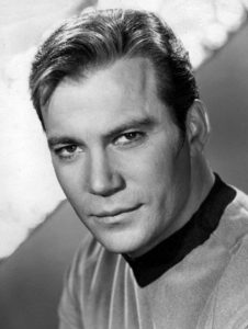 William Shatner as Captain Kirk (1966-1969)